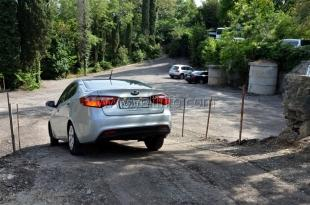 В Ливадии открыли новую парковку автотранспорта