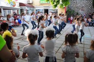В Алупке отметили День защиты детей